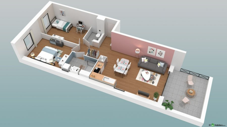 acheter appartement 3 pièces 67.06 m² metz photo 1
