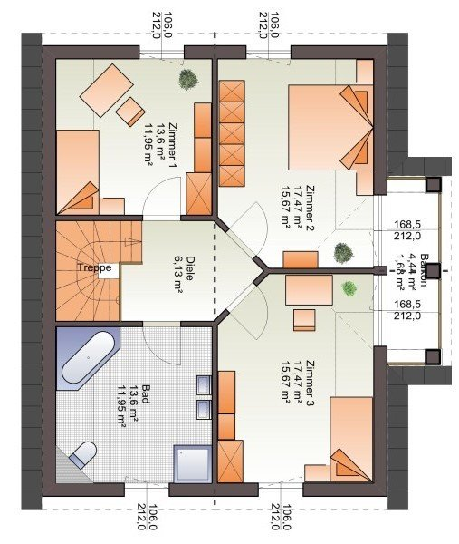 detached house for buy 3 bedrooms 149 m² biwer photo 3
