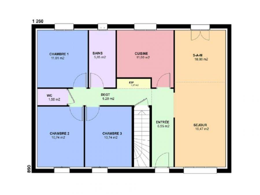 acheter terrain constructible 5 pièces 91 m² béchy photo 4