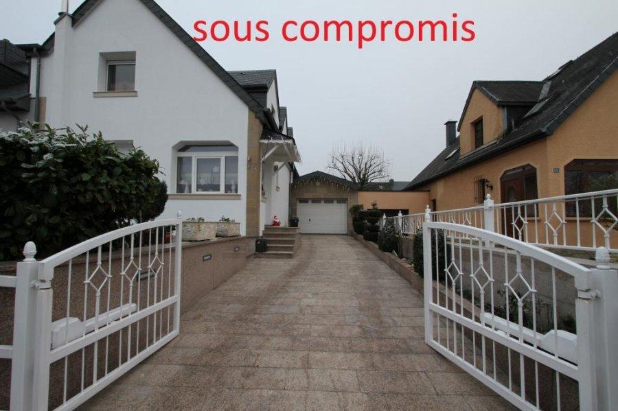 Maison jumelée à vendre à Luxembourg-Hamm