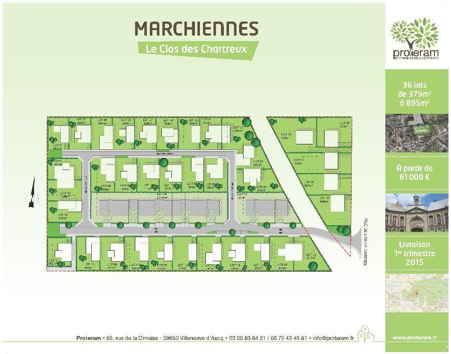 terrain constructible en vente marchiennes m. Black Bedroom Furniture Sets. Home Design Ideas