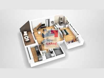 Apartment for sale 2 bedrooms in Luxembourg-Cessange - Ref. 6988290