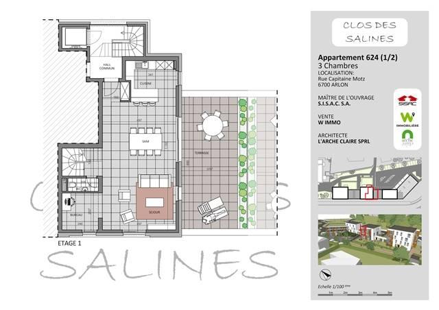 wohnung kaufen 0 zimmer 155 m² arlon foto 1