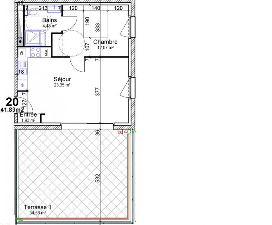 acheter appartement 2 pièces 41.83 m² yutz photo 4