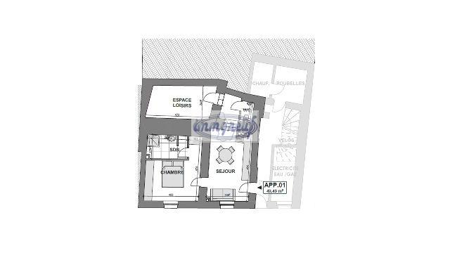 acheter appartement 1 chambre 52 m² luxembourg photo 4