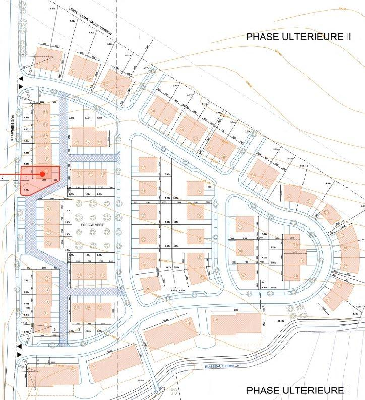 acheter terrain constructible 0 chambre 150 m² kayl photo 3