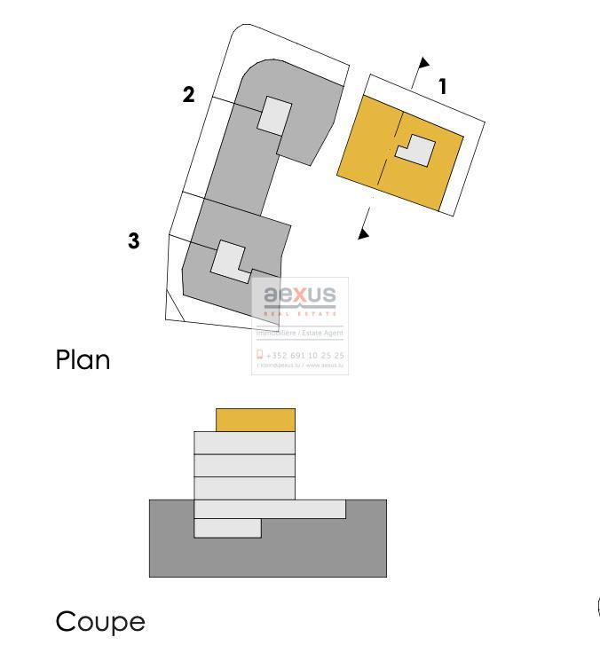 Penthouse à vendre 3 chambres à Berchem
