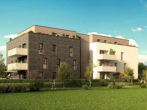 Appartement en vente achenheim 101 m 353 500 for Acheter un appartement en construction