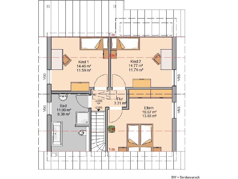 acheter maison 4 pièces 116 m² wallscheid photo 4