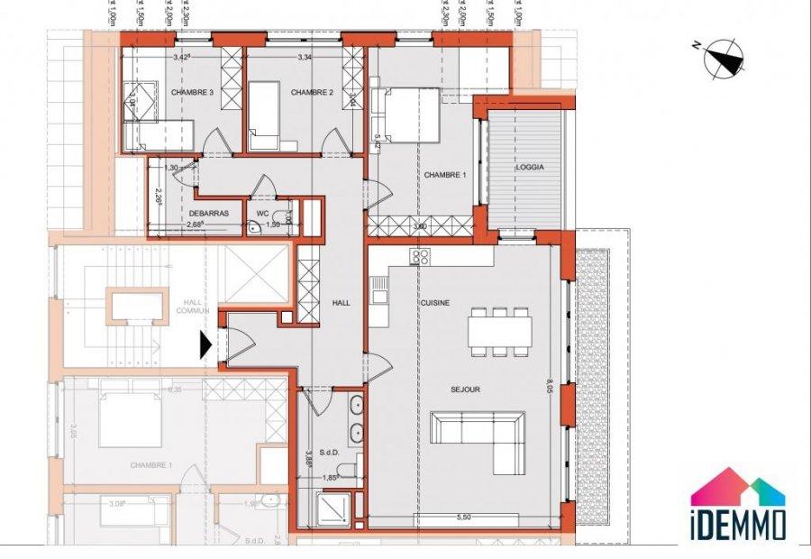 acheter appartement 3 chambres 115.63 m² pétange photo 4