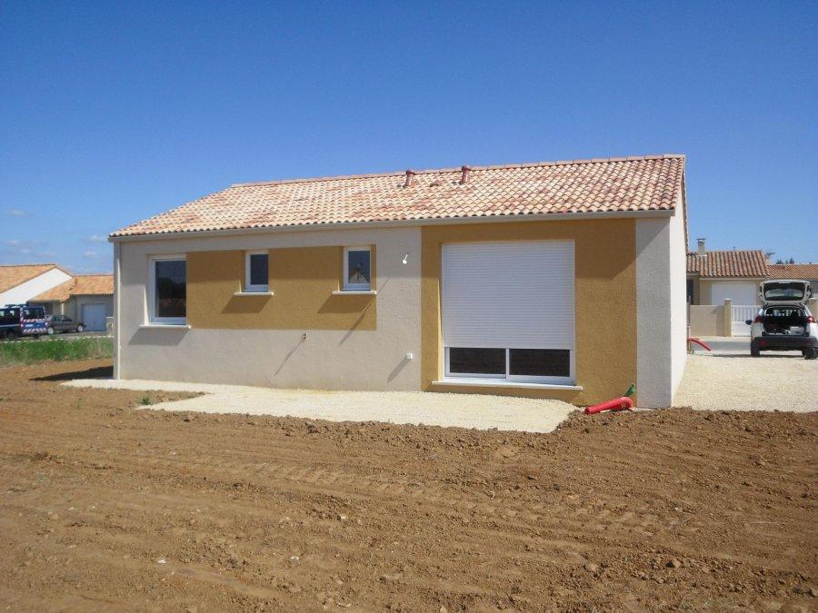 Maison individuelle en vente challans 80 m 158 000 for Vente maison individuelle 06