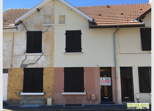 Vente maison mitoyenne 2 chambres herserange meurthe for Modele maison mitoyenne