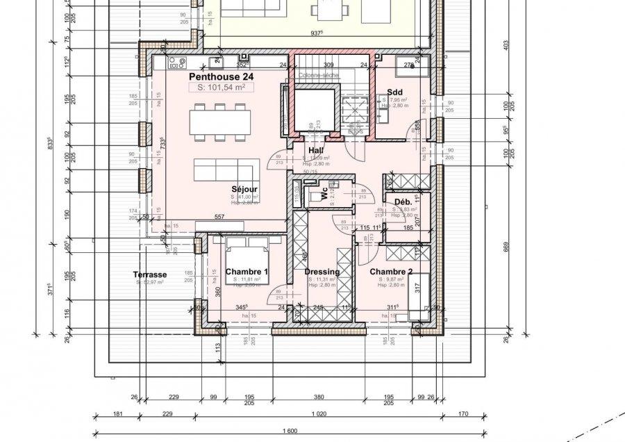 acheter appartement 2 chambres 101 m² wemperhardt photo 5