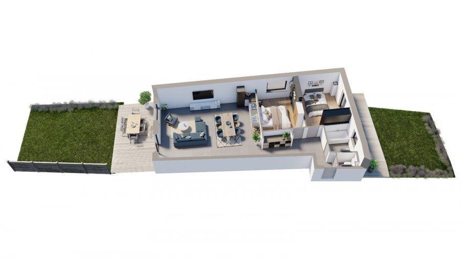 Rez-de-chaussée à vendre 2 chambres à Niederkorn