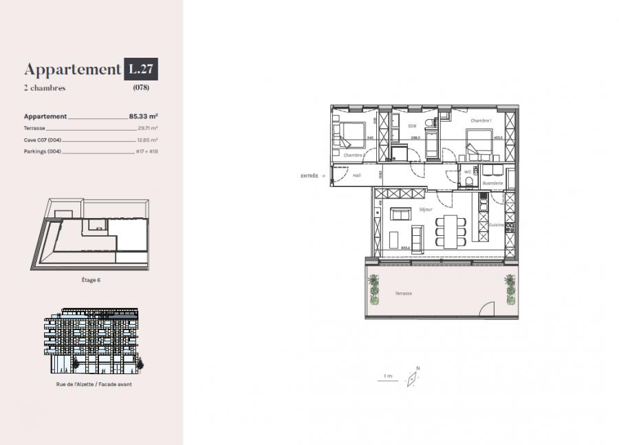 penthouse for buy 2 bedrooms 85.33 m² esch-sur-alzette photo 2