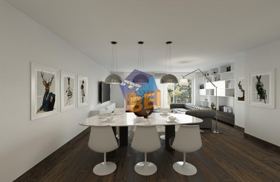 acheter appartement 2 chambres 92.02 m² dudelange photo 3