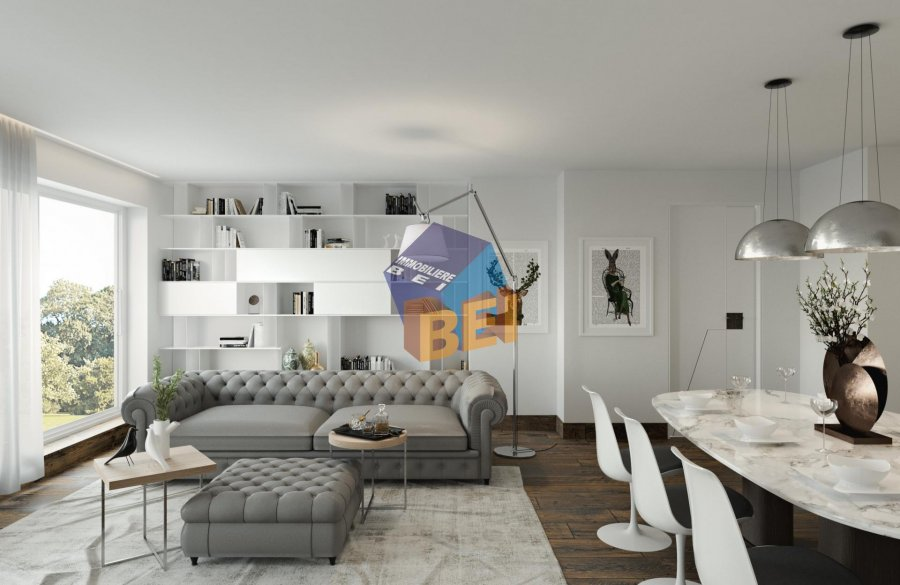 acheter appartement 2 chambres 92.02 m² dudelange photo 2