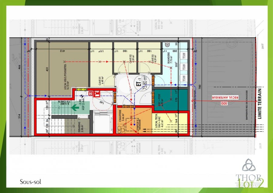 acheter appartement 2 chambres 114.16 m² luxembourg photo 2