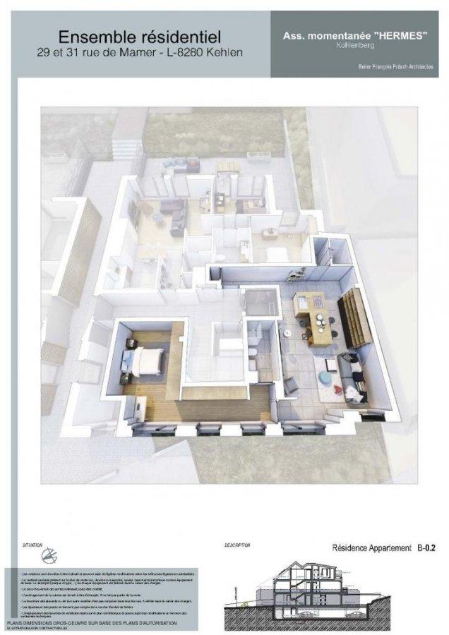 acheter appartement 1 chambre 73.1 m² kehlen photo 4