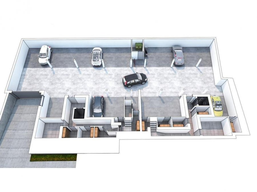 acheter appartement 1 chambre 73.1 m² kehlen photo 6