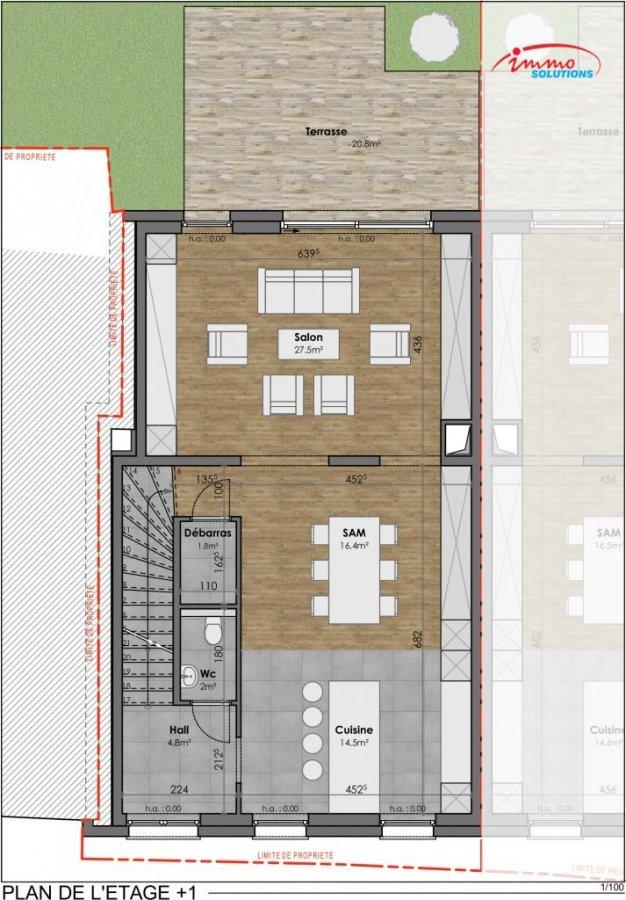 reihenhaus kaufen 3 schlafzimmer 146.34 m² wormeldange foto 7