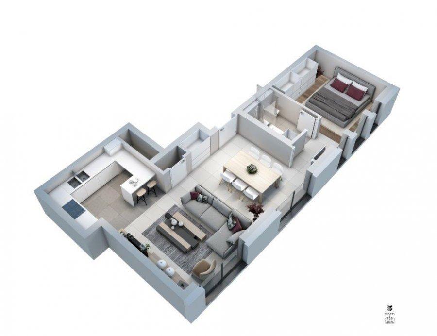 wohnung kaufen 1 schlafzimmer 55.67 m² hesperange foto 7