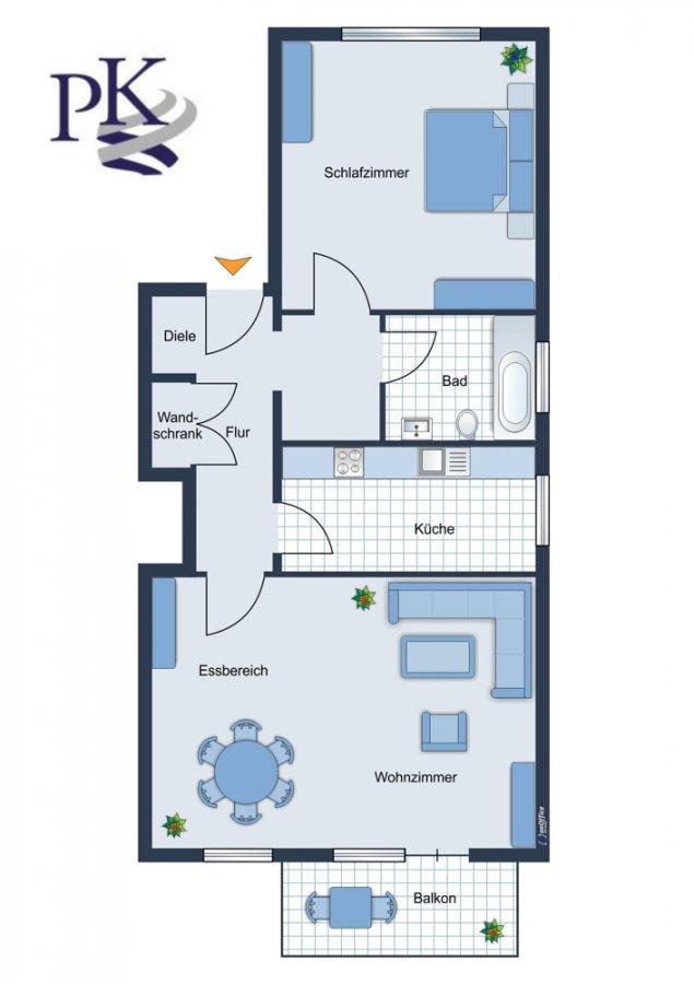wohnung kaufen 2 zimmer 64 m² saarbrücken foto 2