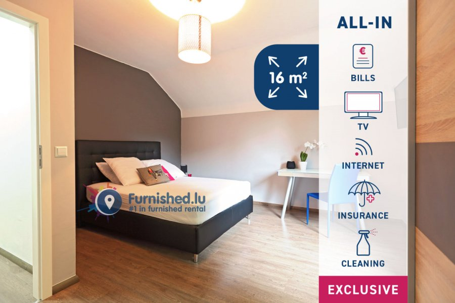 louer chambre 7 chambres 16 m² luxembourg photo 1