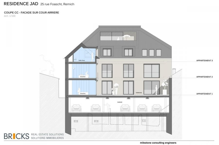 acheter appartement 4 chambres 215.83 m² remich photo 4