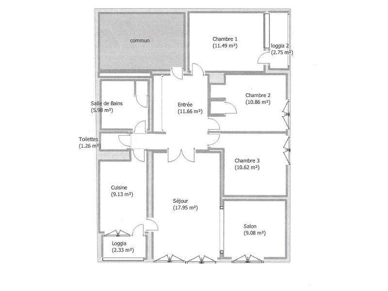 acheter appartement 5 pièces 88 m² belleville-sur-meuse photo 2