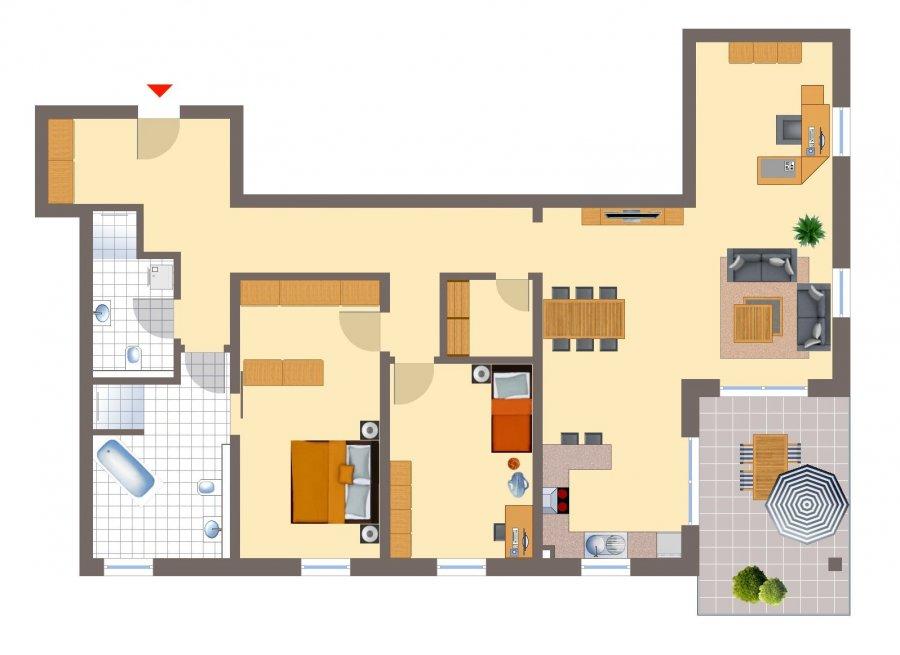wohnung kaufen 4 zimmer 134.84 m² echternacherbrück foto 2