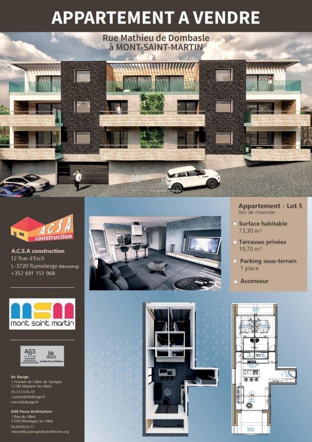 acheter appartement 2 pièces 49.55 m² mont-saint-martin photo 6