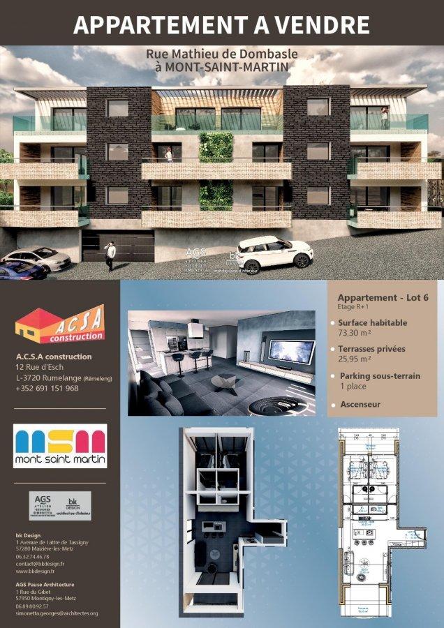 acheter appartement 2 pièces 49.55 m² mont-saint-martin photo 7
