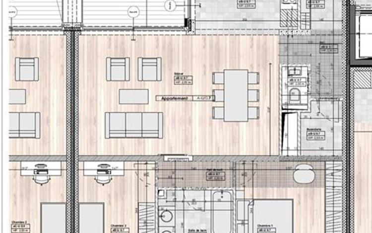 acheter appartement 0 pièce 93 m² huy photo 7