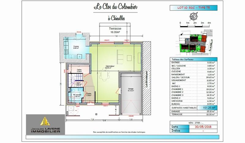 acheter maison 7 pièces 151.25 m² chieulles photo 1