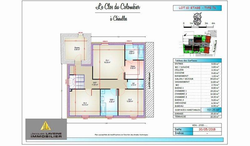 acheter maison 7 pièces 151.25 m² chieulles photo 2