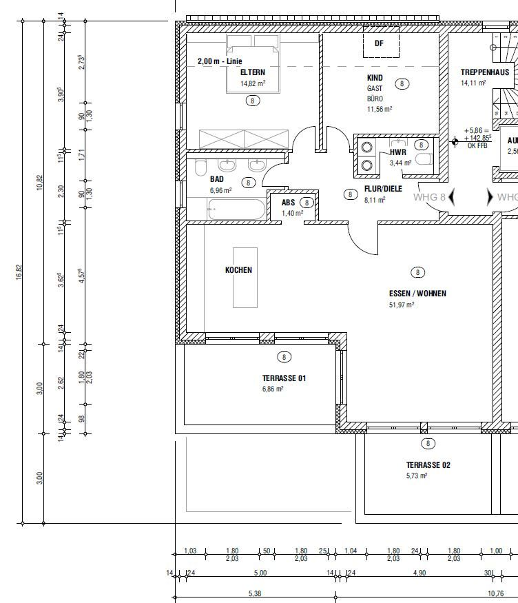 wohnung kaufen 3 zimmer 110.85 m² schweich foto 3