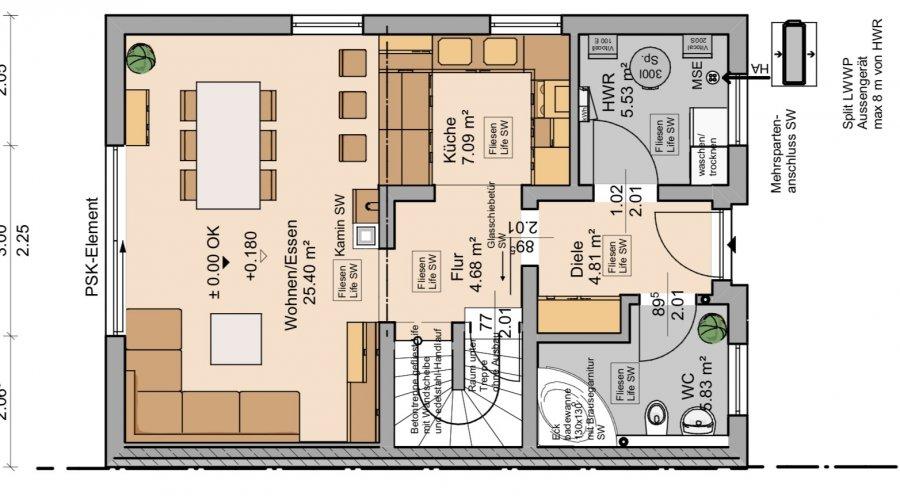 doppelhaushälfte kaufen 4 zimmer 120 m² perl foto 2