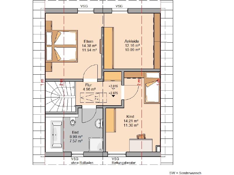 haus kaufen 3 zimmer 97 m² mettendorf foto 4