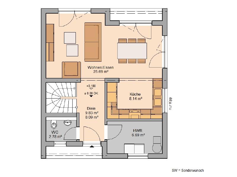 haus kaufen 3 zimmer 97 m² mettendorf foto 3