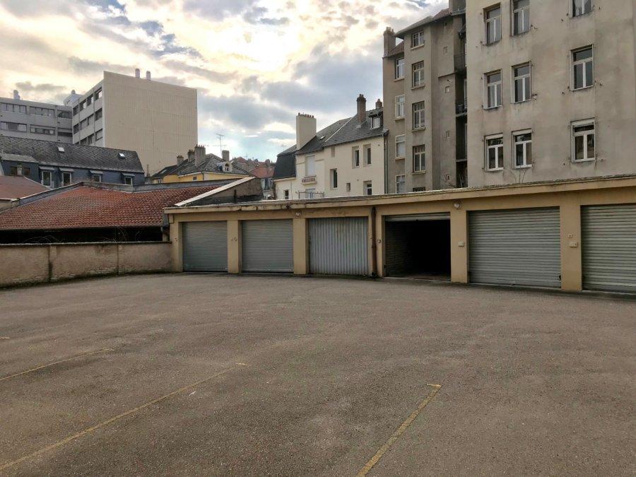 Garage ouvert à louer à Metz-Gare