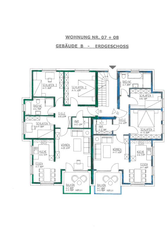 wohnung kaufen 4 zimmer 92.46 m² trier foto 2