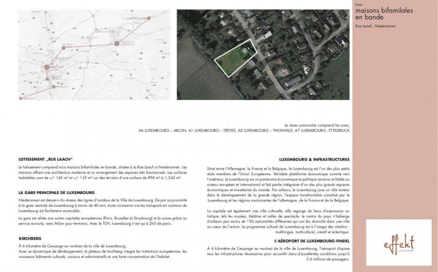acheter maison jumelée 3 chambres 155.47 m² niederanven photo 6