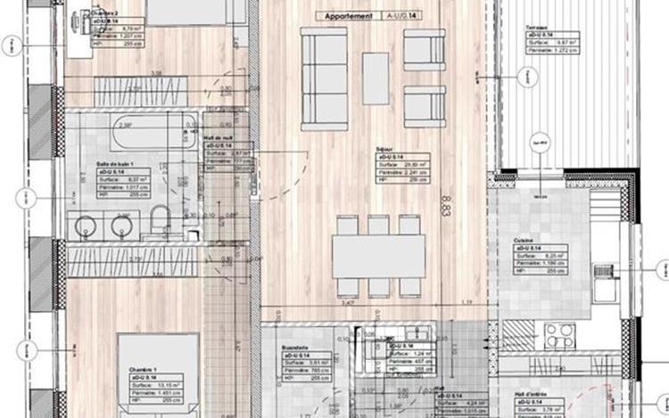 acheter appartement 0 pièce 92 m² huy photo 7