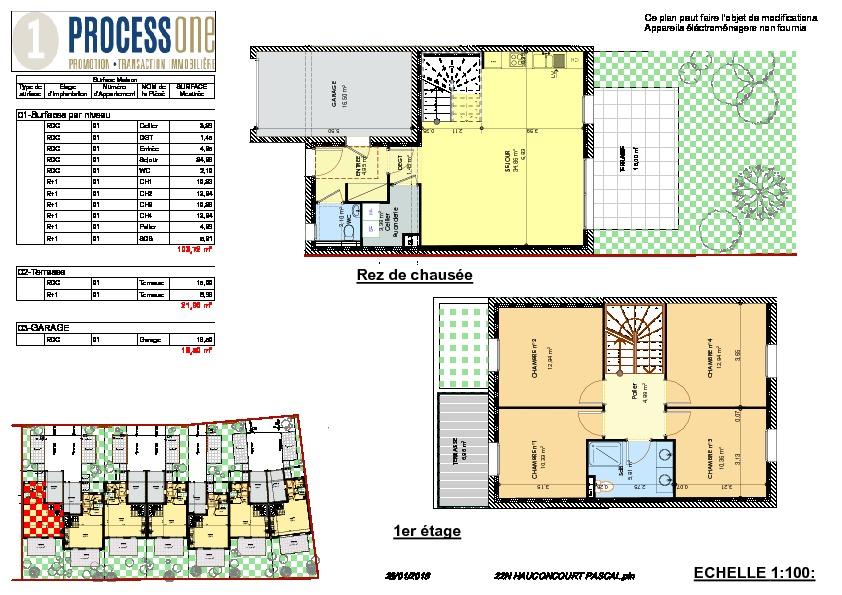 acheter maison 6 pièces 103.81 m² hauconcourt photo 1