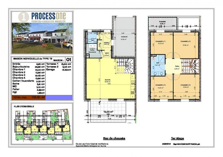 acheter maison 6 pièces 103.81 m² hauconcourt photo 2