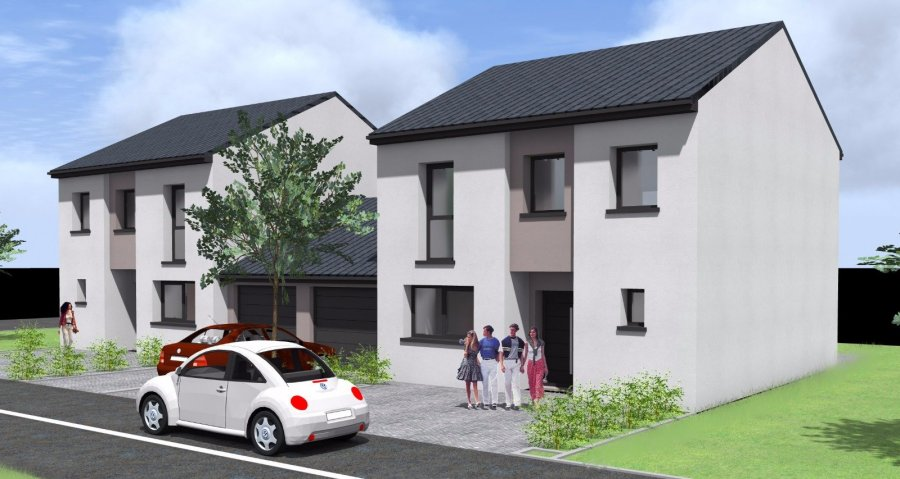 Ctn immobilier - Plan maison mitoyenne par le garage ...