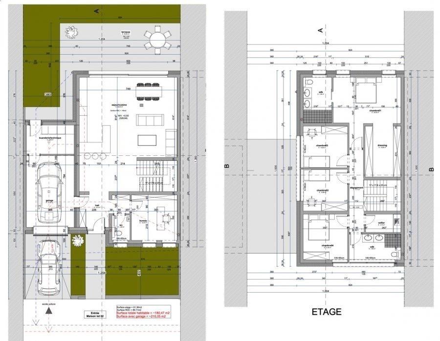 acheter maison 4 chambres 210.05 m² koerich photo 4
