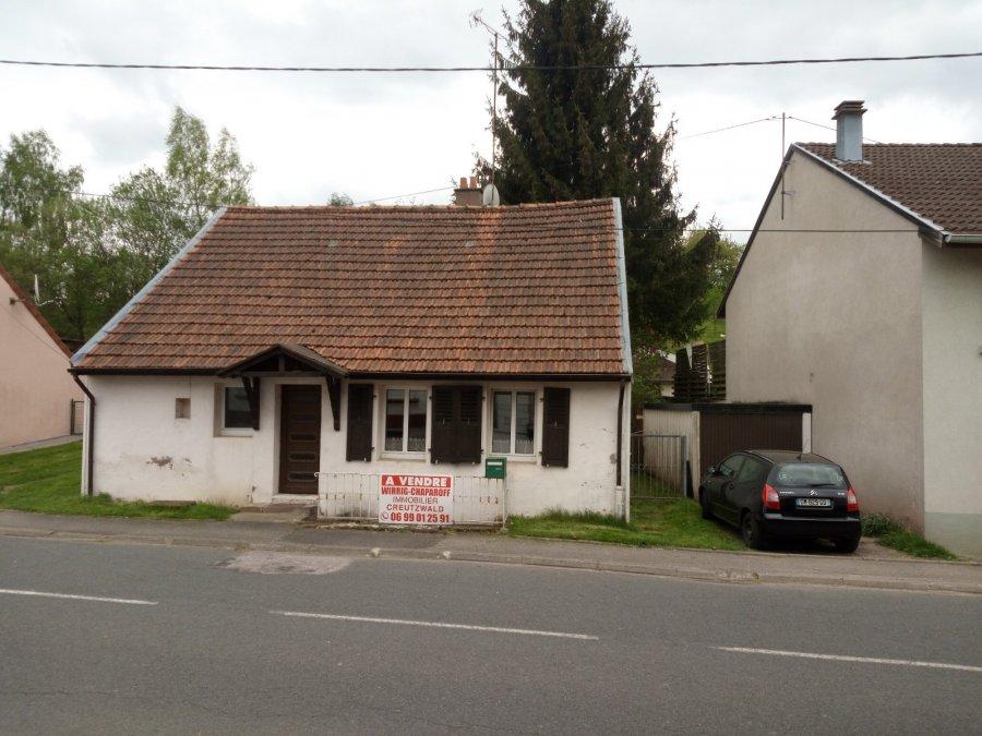 Maison individuelle à vendre F3 à Arzviller