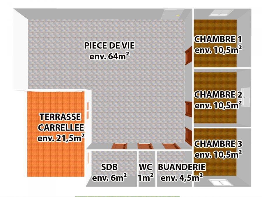Appartement à vendre F6 à Villers-la-Chèvre
